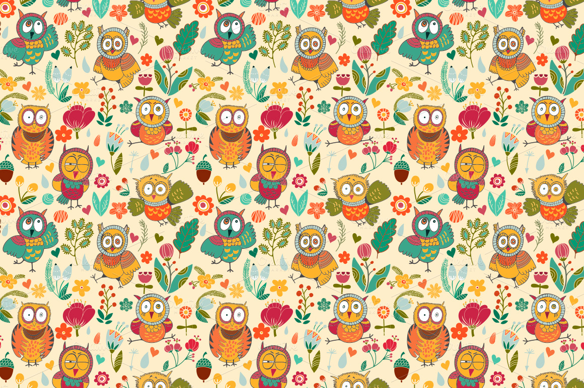 cute owl backgrounds tumblr - photo #20
