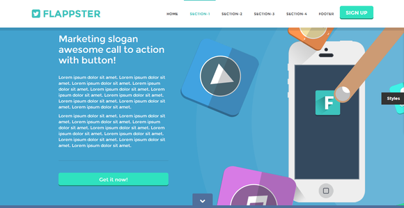 Twitter Bootstrap templates free and premium Bootstrap starter KIT ...