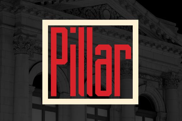 Pillar Typeface
