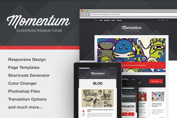 Momentum Business WP Theme