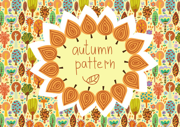 Autumn Cute Pattern