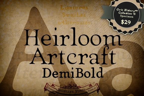 Demi Heirloom Artcraft