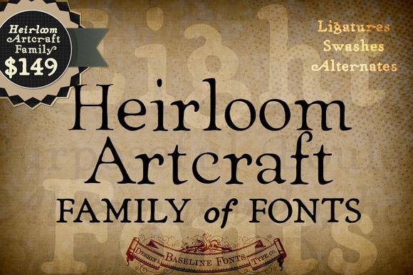 Heirloom Artcraft Family