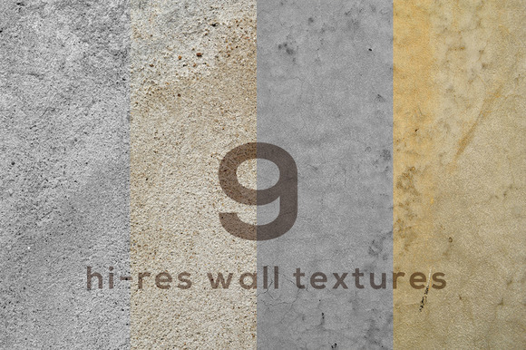 Rough Hi-res Wall Textures I
