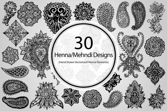 30 Henna Mehndi Designs