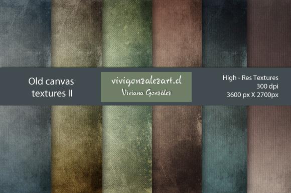 Old Canvas Textures II