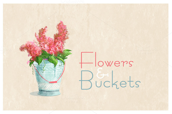 Flowers & Buckets 1.0 - Illustrations