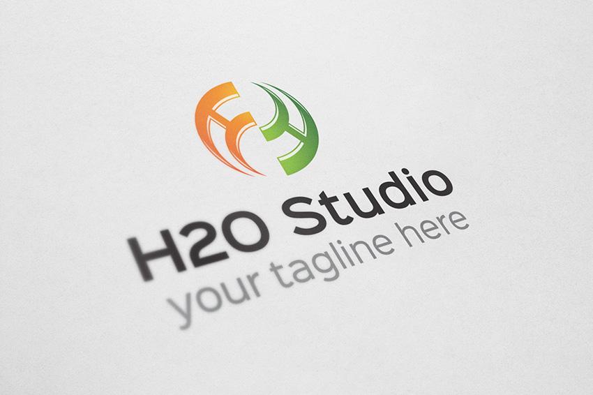 h Letter Logo Design h Letter Logo o Jpg 1412694172
