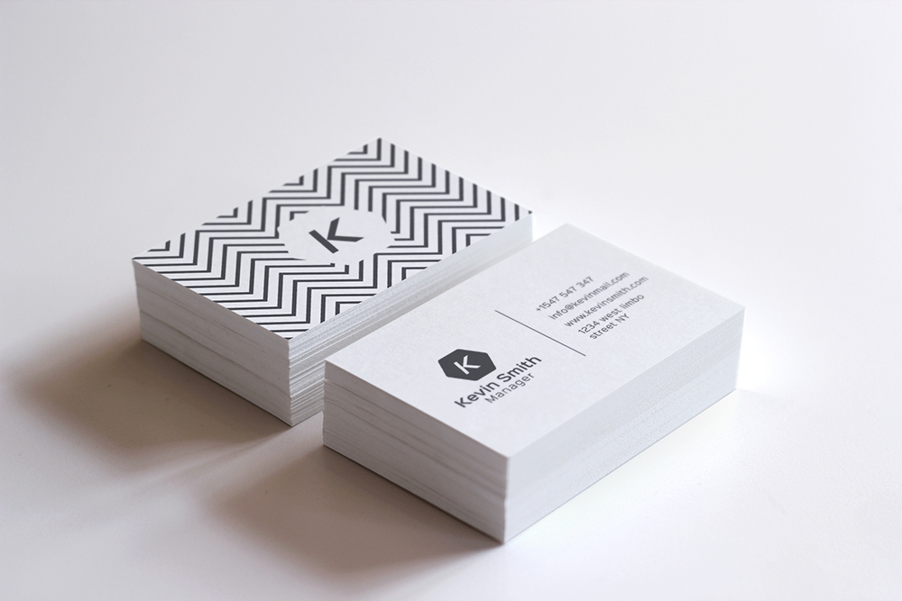 Simple business card business card templates on creative for Business card trends