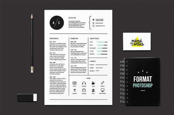 Adobe Photoshop Resume Templates. 26 Kostenlose Bewerbungsvorlagen ...