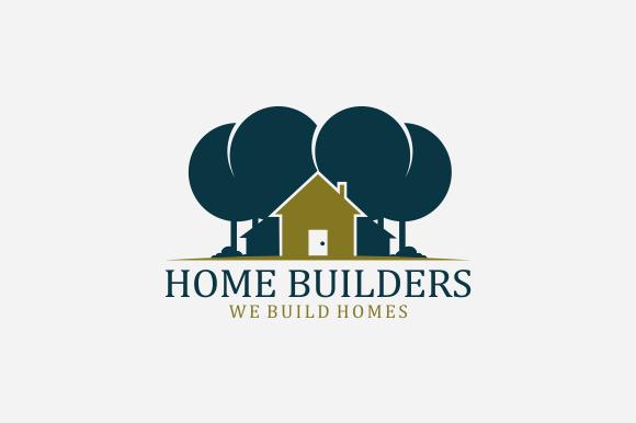 Home Builders Logo Logo Templates On Creative Market