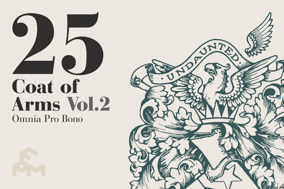 25 Coat Of Arms - Vol.2 - Illustrations