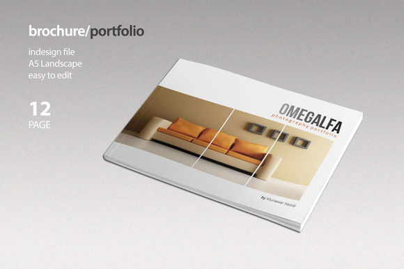 portfolio brochure template - brochure portfolio brochure templates on creative market