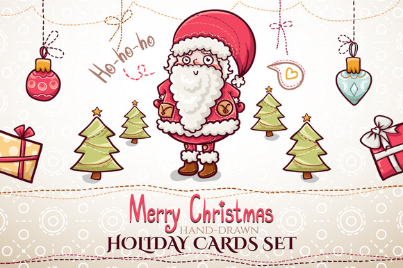 Christmas Cards Set
