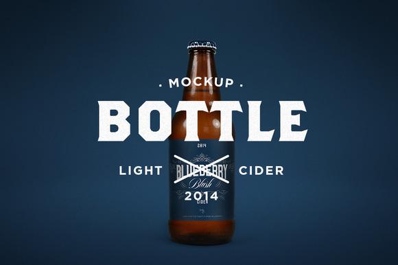 Light Cider Mock-Up