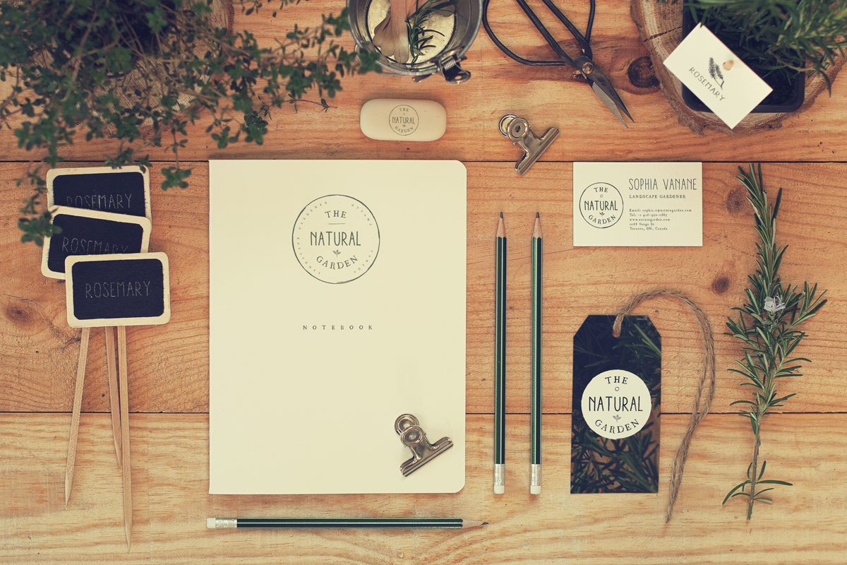 Stationery Mock Up - Garden #3 ~ Product Mockups on ...