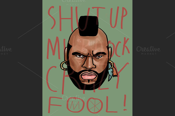 Mr. T Fanart by MO - Illustrations