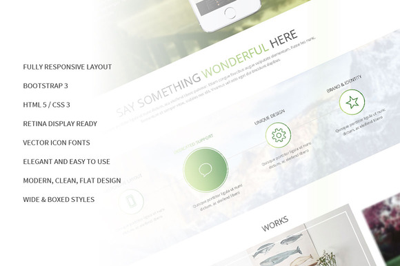 Morning Responsive Bootstrap Theme - Bootstrap - 1