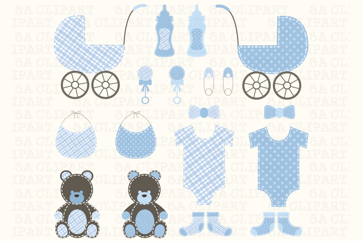 baby boy clipart shower - photo #48