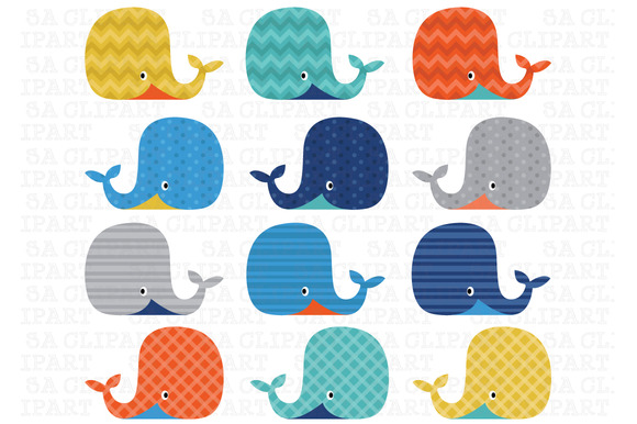 clipart baby shower whale - photo #30