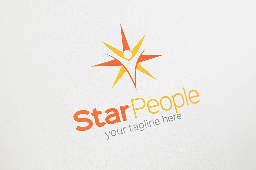 seo star logo logo templates on creative market