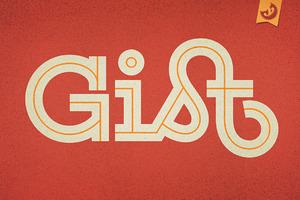 Gist Font Family