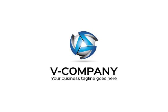 COMPANY Logo Tem...V Company Logo