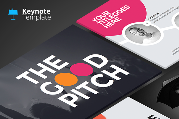 The Good Pitch - Keynote Template - Presentations - 1