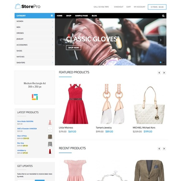 StorePro – WordPress eCommerce Theme
