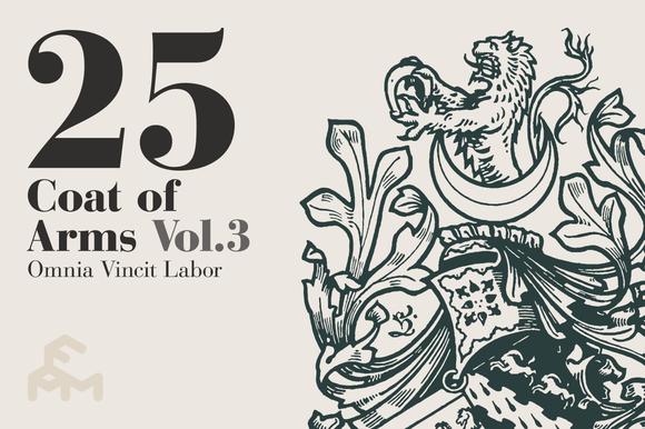 25 Coat Of Arms - Vol.3 - Illustrations