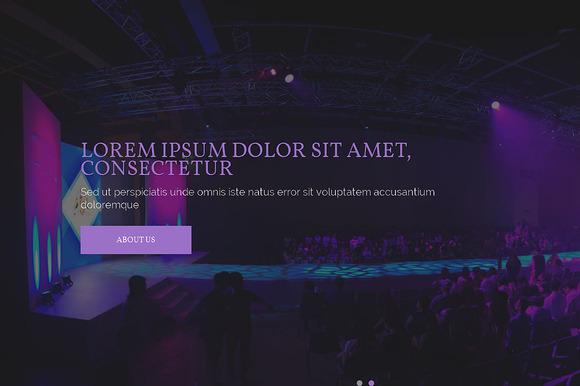 Sophia Carman Responsive Theme - HTML/CSS - 1