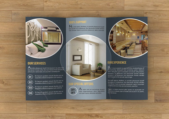 Brochure for interior designer sistec for Interior design brochures