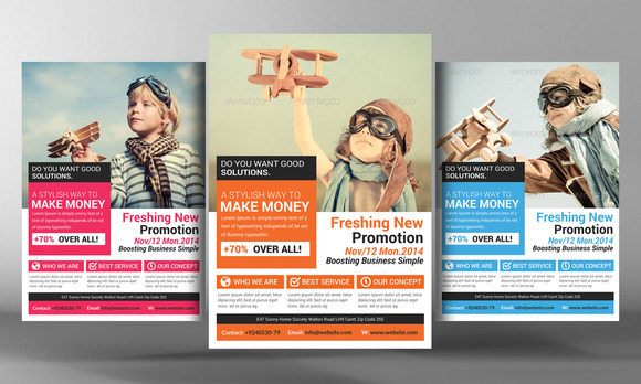 example of flyers for advertising