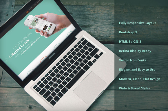 Inspire Bootstrap Responsive Theme - Bootstrap - 1