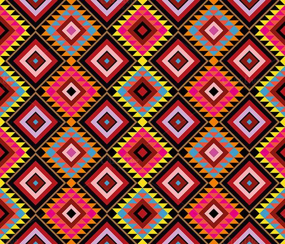 Native Pattern Seamless Background