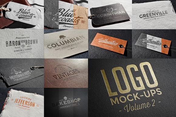 Logo Mock-ups Vol.2 - Product Mockups