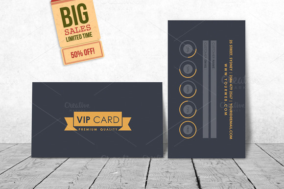 vip loyalty card template invitation templates on. Black Bedroom Furniture Sets. Home Design Ideas