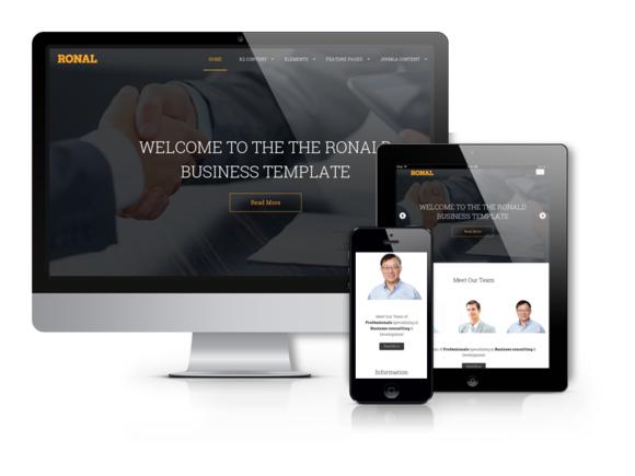 Ronal Drupal Website Design