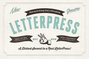 RetroSupply LetterPress