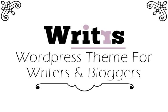 Writrs Minimalistic Blogging Theme