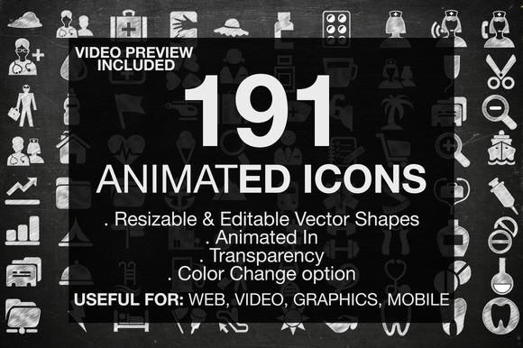 191 Animated Useful Icons