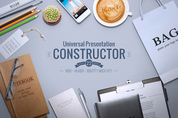 Universal Constructor - Product Mockups - 1
