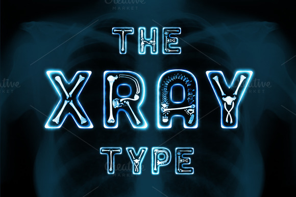 The X Ray Type Objects On Creative Market