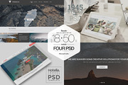 BUNDLE - Clean PSD Website -Graphicriver中文最全的素材分享平台