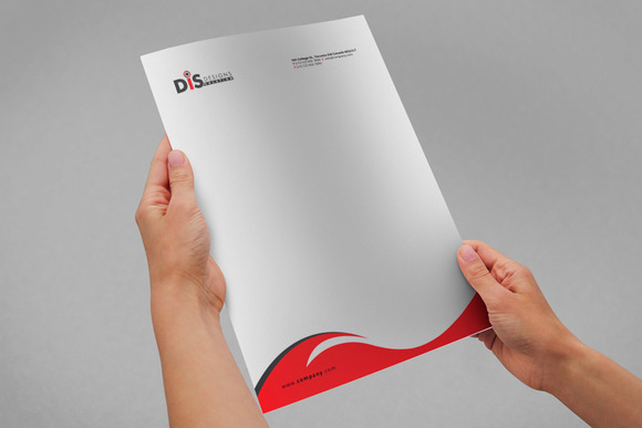 Letterhead Pad With Ms Word Files Stationery Templates