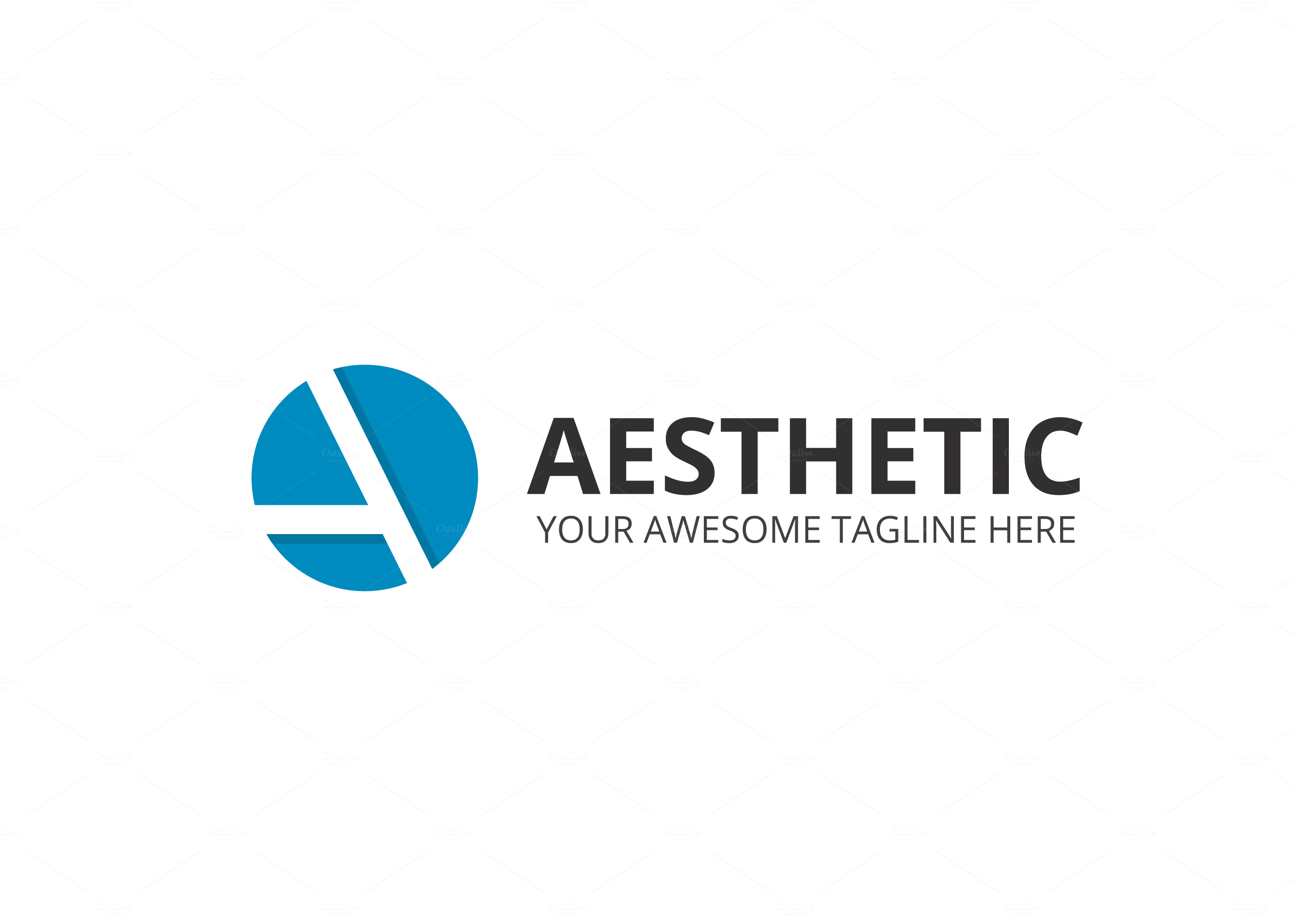 Aesthetic Letter A Logo ~ Logo Templates on Creative Market