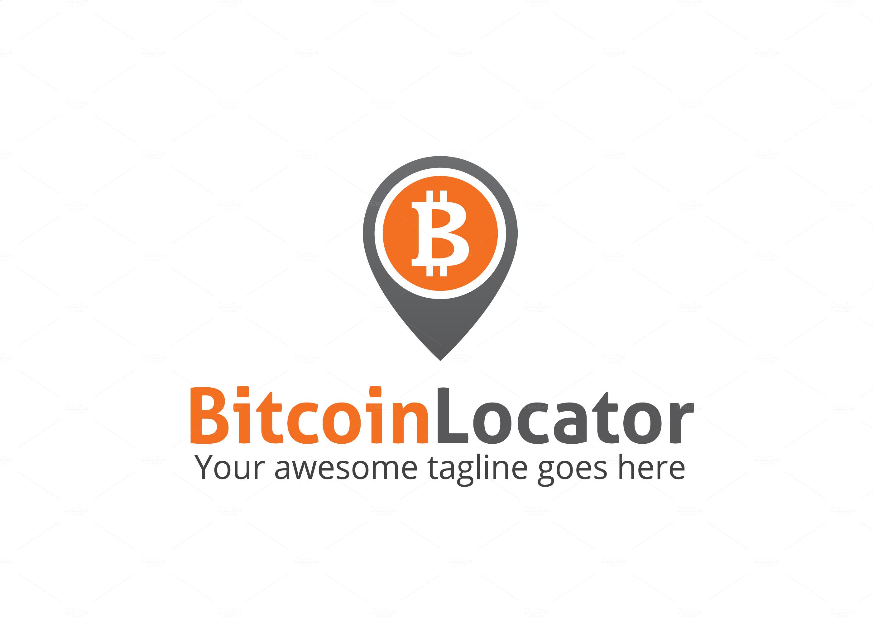 Bitcoin Logo Bitcoin Locator Logo Logo
