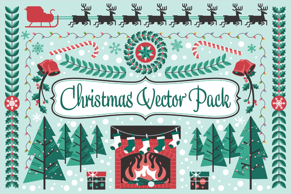 Christmas Holiday Vector Pack