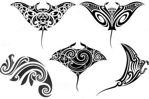 Maori Tattoo Patterns