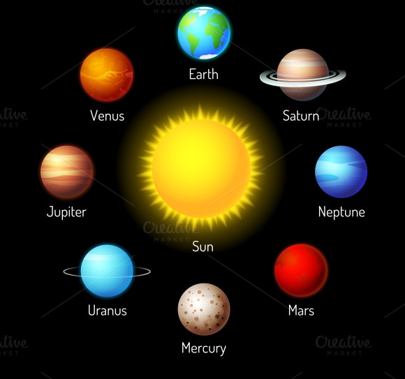 solar system pictures to color - photo #10